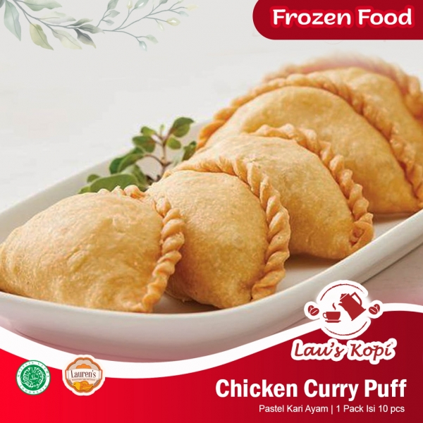 Chicken Curry Puff Frozenfood