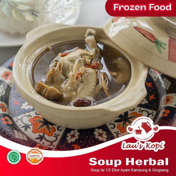 Soup Herbal Frozen Food