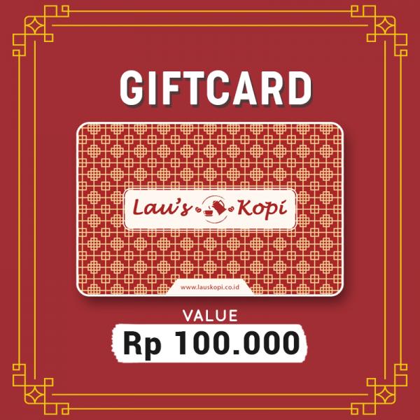 Giftcard Lau's Kopi