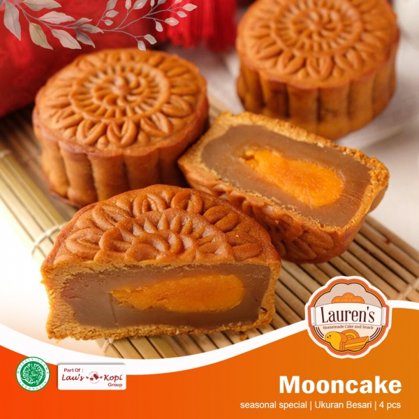Mooncake Large 4 pcs
