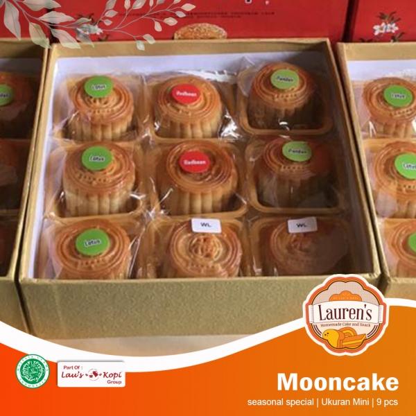 Mini Mooncake 9 pcs